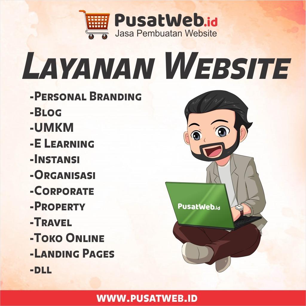 Layanan Pembuatan Website Pusat Web