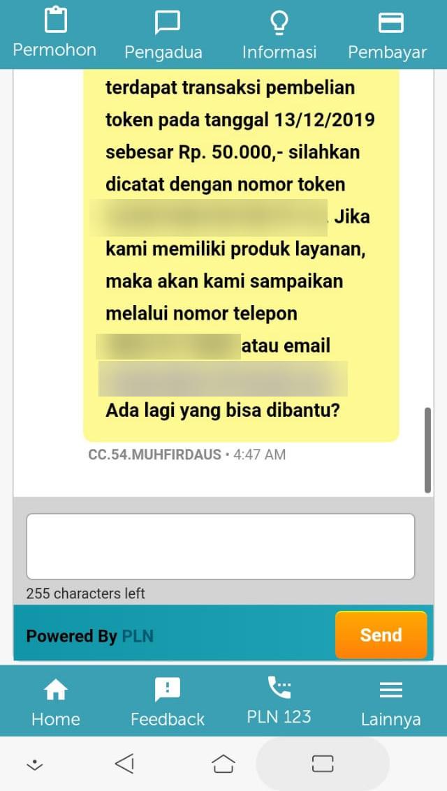 Chat PLN
