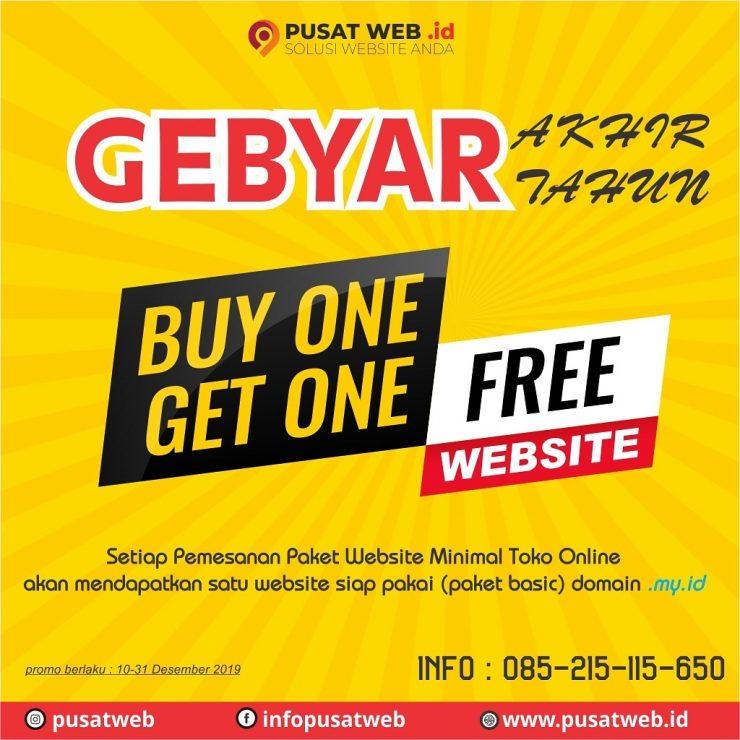 Pesan Satu Website Bonus Satu Website
